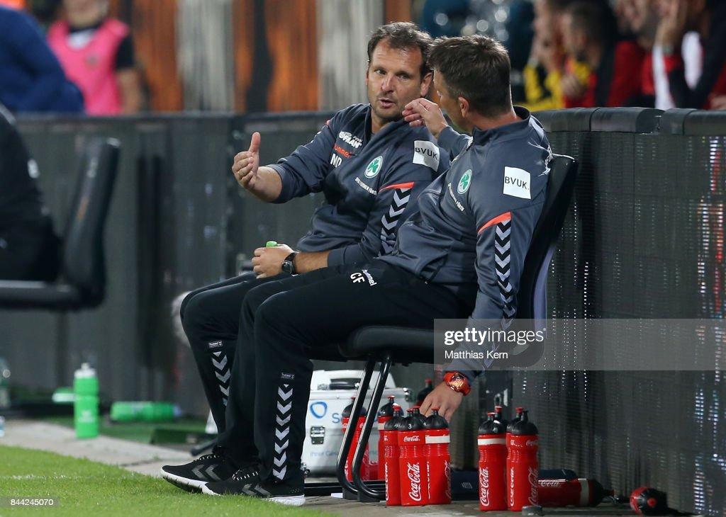 SG Dynamo Dresden v SpVgg Greuther Fuerth - Second Bundesliga