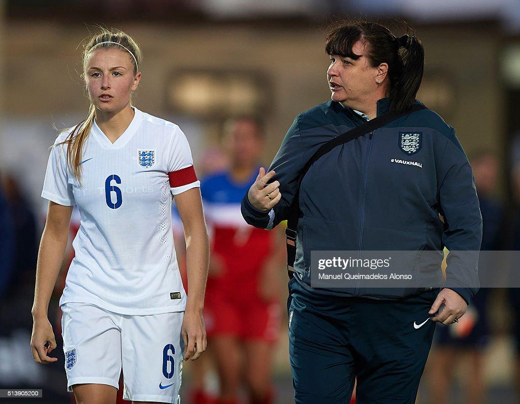 England U19 v USA U19 - International Womens U19 National Teams Tournament