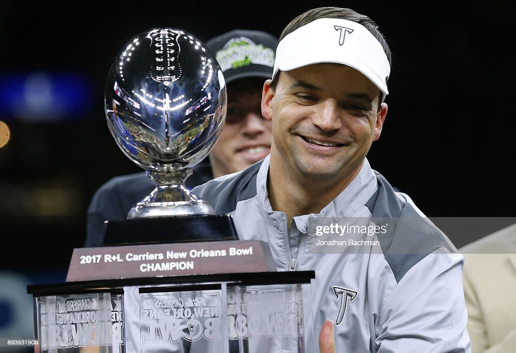 R+L Carriers New Orleans Bowl - Troy v North Texas : News Photo
