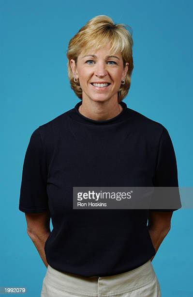 Head coach Nell Fortner of the Indiana Fever during the Fever Media Day portrait shoot on May 6 2003 in Indianapolis Indiana NOTE TO USER User...