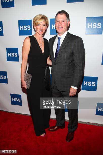 Head Coach New York Giants Pat Shurmur and Jennifer Shurmur attend The Hospital for Special Surgery 35th Tribute Dinner at the American Museum of...