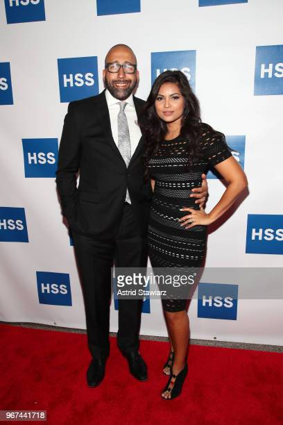 Head Coach New York Knicks David Fizdale and Natasha Sen Fizdale attend The Hospital for Special Surgery 35th Tribute Dinner at the American Museum...
