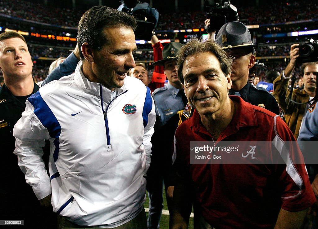 SEC Football Championship - Florida v Alabama : News Photo