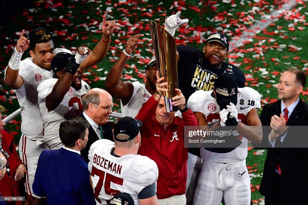 CFP National Championship presented by AT&T - Alabama v Georgia : News Photo