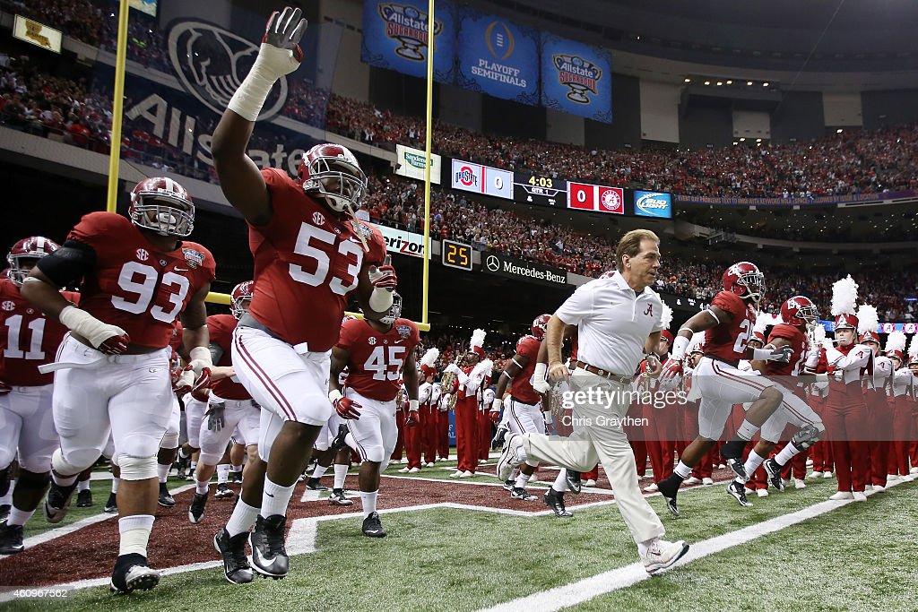 All State Sugar Bowl - Alabama v Ohio State : News Photo
