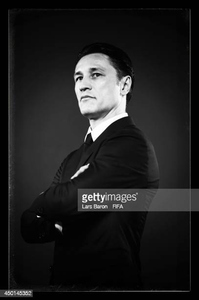 Head coach Niko Kovac of Croatia poses during the official Fifa World Cup 2014 portrait session on June 5 2014 in Salvador Brazil