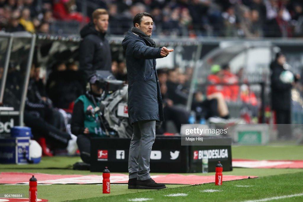 Eintracht Frankfurt v Sport-Club Freiburg - Bundesliga : News Photo