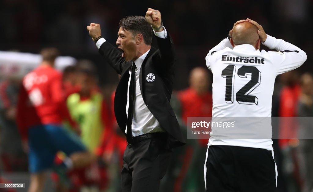 Bayern Muenchen v Eintracht Frankfurt - DFB Cup Final : Nachrichtenfoto