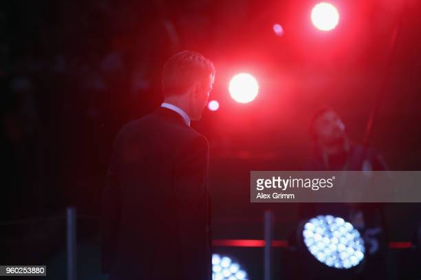 Head coach Niko Kovac of Frankfurt walks to the winners' podium after the DFB Cup final between Bayern Muenchen and Eintracht Frankfurt at...