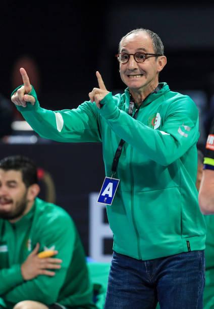 EGY: Algeria v Switzerland - IHF Men's World Championships Handball 2021