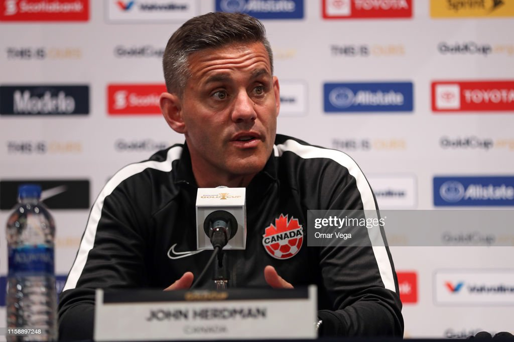 Canada Training Session & Press Conference - 2019 CONCACAF Gold Cup : News Photo