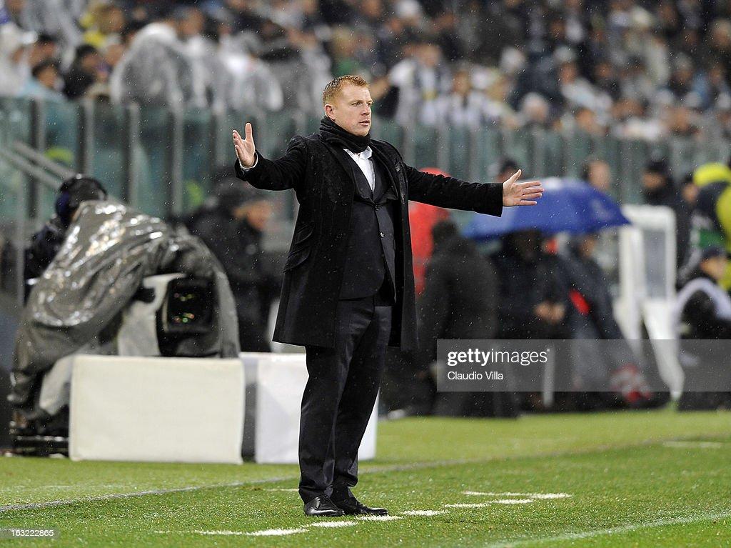 Juventus v Celtic - UEFA Champions League Round of 16 : News Photo