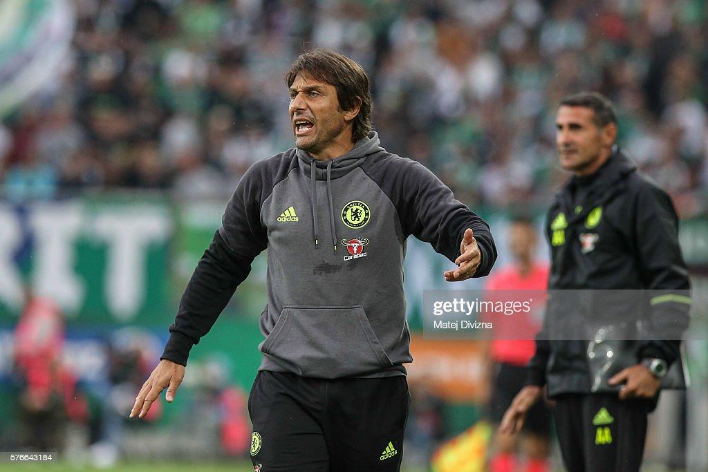 SK Rapid v Chelsea F.C.  - Friendly Match : ニュース写真