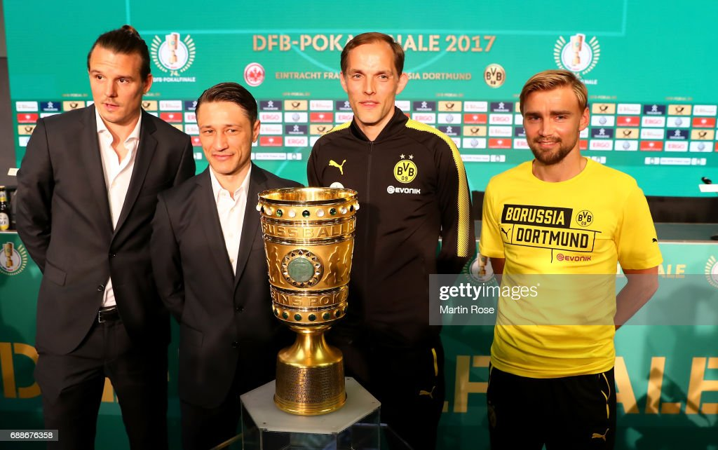Press Conference - DFB Cup Final 2017