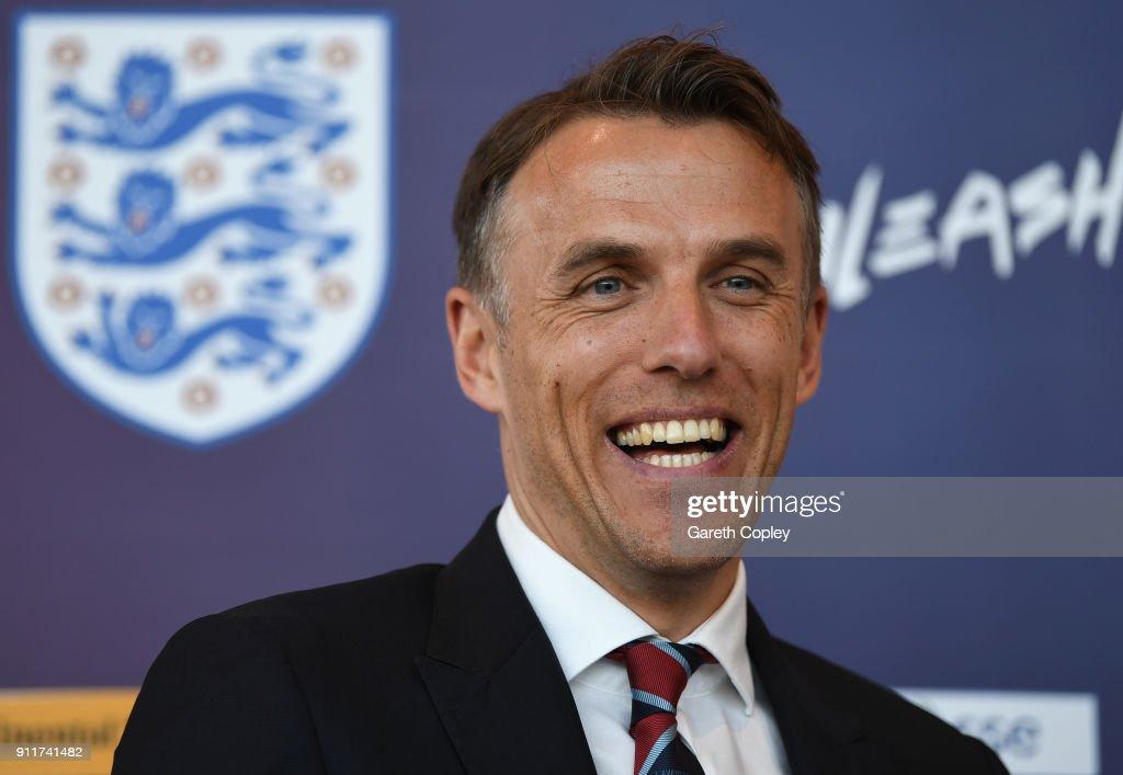 England Women Press Conference : News Photo