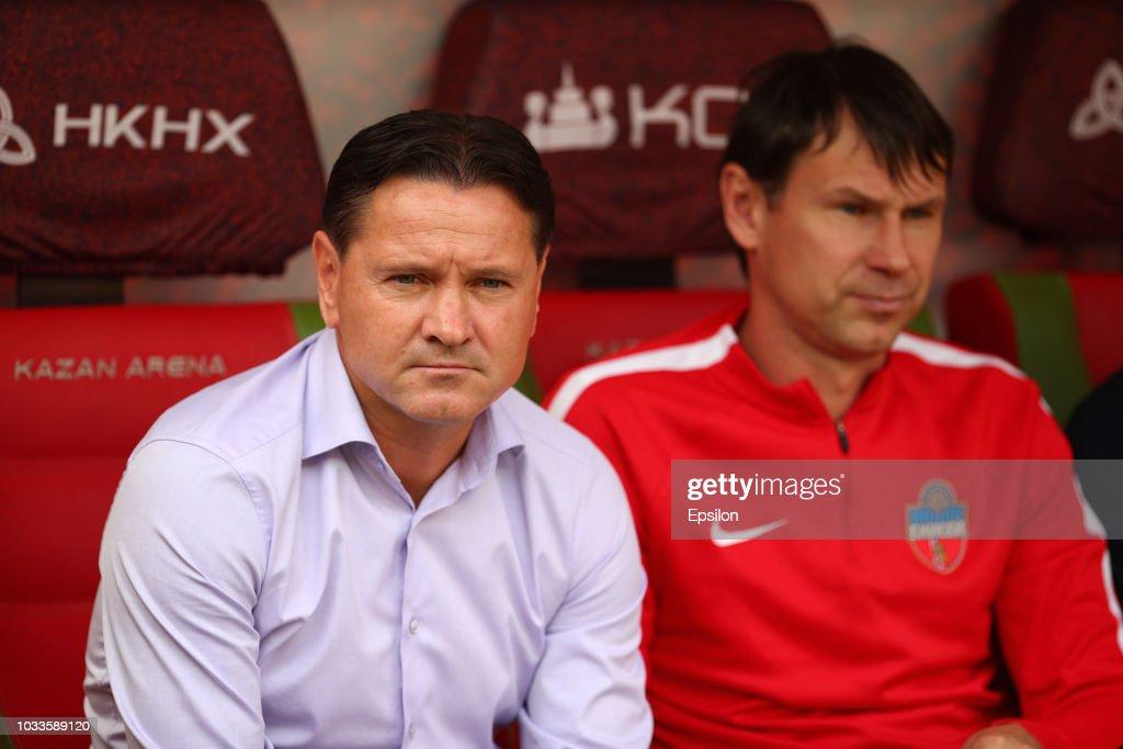 FC Rubin Kazan vs FC Enisey Krasnoyarsk - Russian Premier League : Nachrichtenfoto