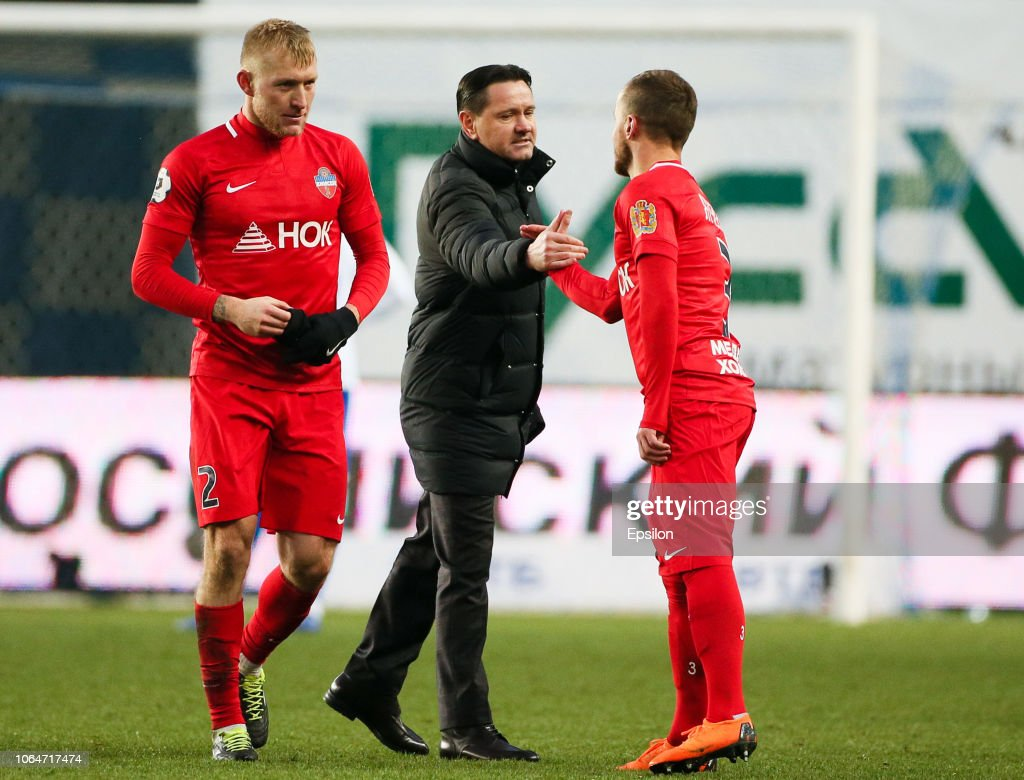 FC Dinamo Moscow vs FC  Enisey Krasnoyarsk - Russian Premier League : Foto jornalística