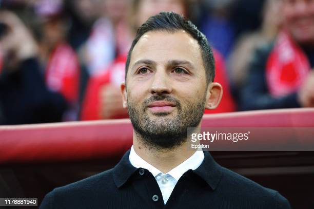 Head coach of FC Spartak Moscow Domenico Tedesco during the Russian Premier League match between FC Spartak Moscow and FC Rubin Kazan on October 19,...