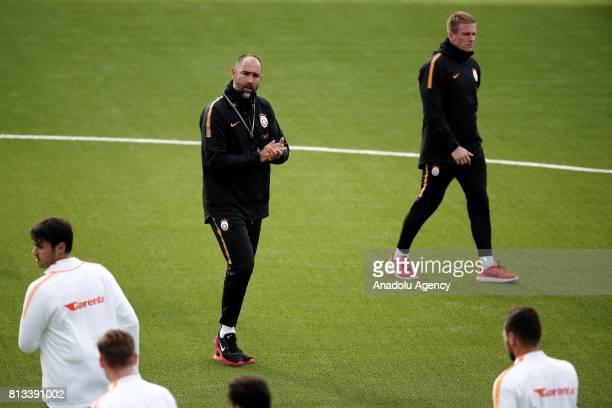 Head Coach of Galatasaray Igor Tudor leads the training session of Galatasaray ahead of the UEFA Europa League 2nd Qualifying Round soccer match...