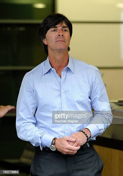 Head coach of German Football Association Joachim Loew is pictured during the DFB federal court appellate proceeding against Eintracht Frankfurt at...