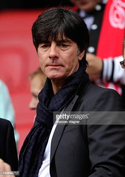 Head coach of German National Football team Joachim Loew visits the Bundesliga match between FSV Mainz 05 and Borussia Moenchengladbach at Coface...