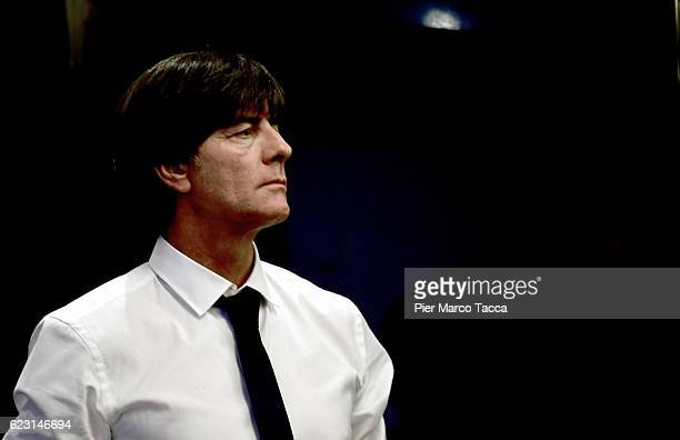 Head Coach of Germany Joachim Low attends the Germany press conference at Hotel Melia on November 14 2016 in Milan Italy