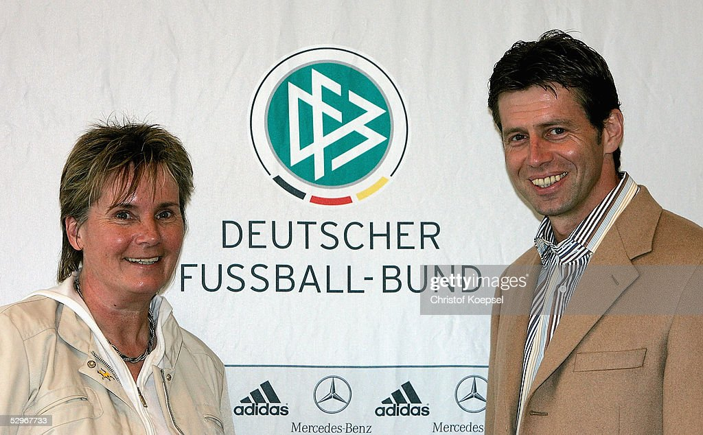Press Conference for German Squad Announcement : News Photo