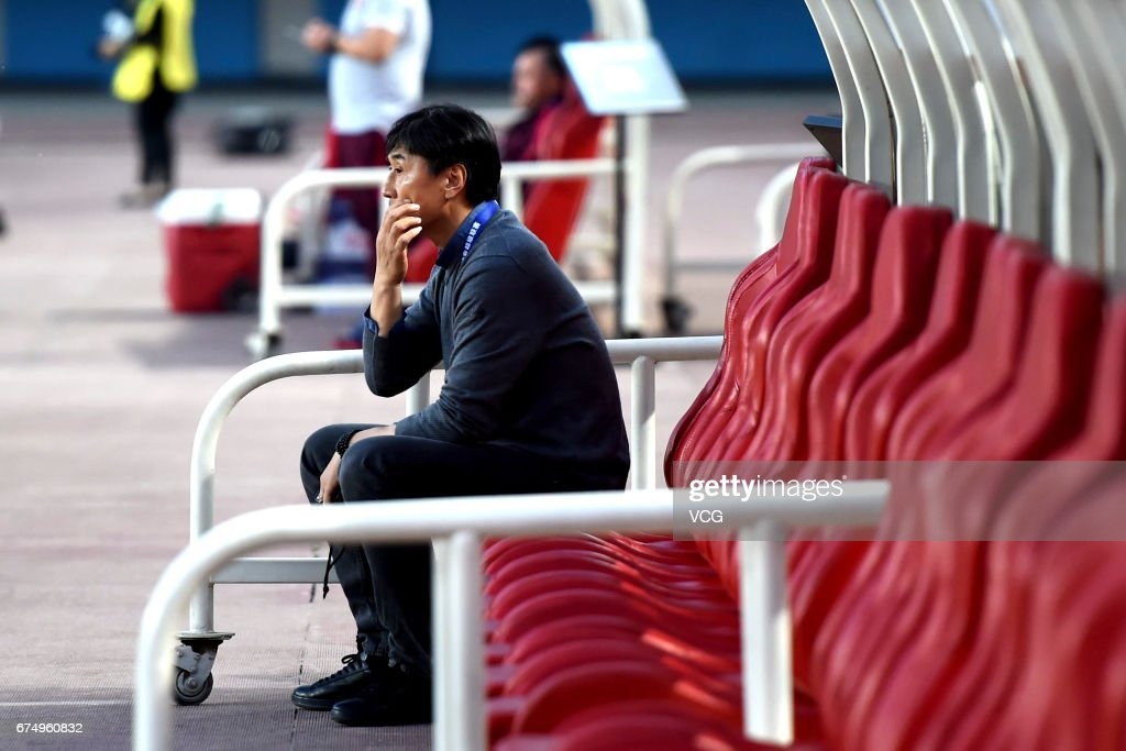 Henan Jianye v Guangzhou Evergrande - Chinese Super League : News Photo