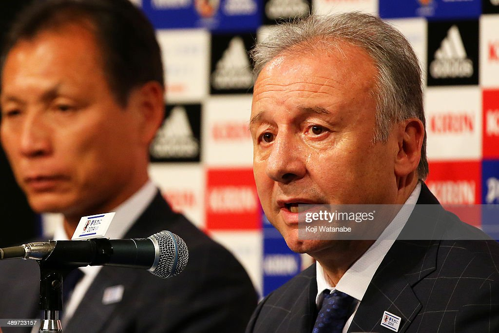 Japan Announce World Cup National Team Squad : ニュース写真