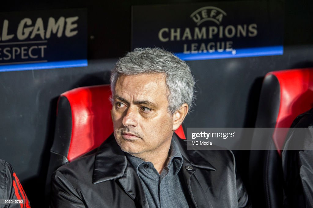 Sevilla FC v Manchester United - UEFA Champions League Round of 16: First Leg : News Photo