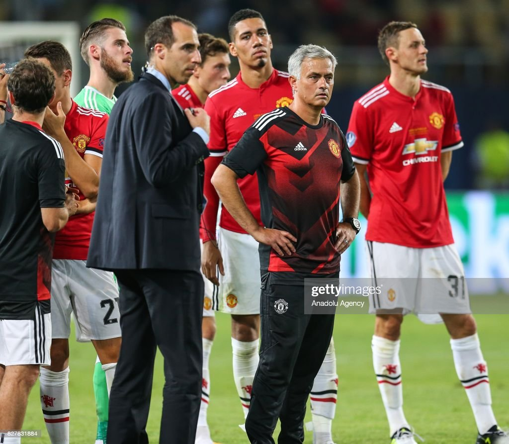 Real Madrid edges ManU for Super Cup title : News Photo
