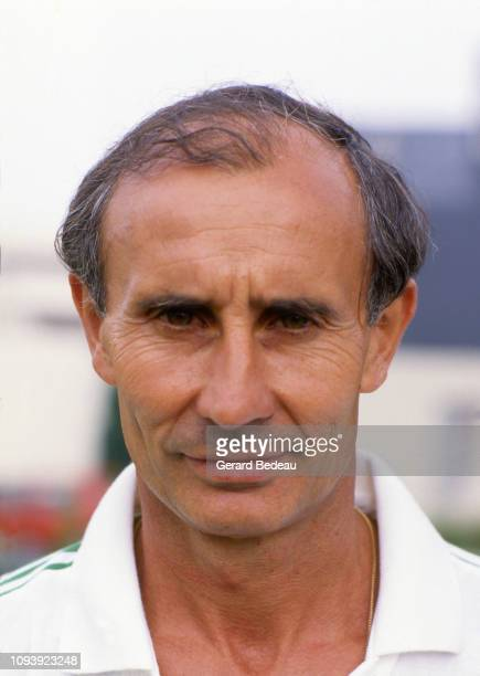 Head Coach of Nantes Jean Claude Suaudeau during the FC Nantes photoshooting for season 1987/1988 in Nantes on July 23th 1987