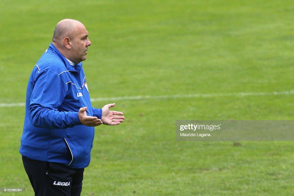 Head coach of Palermo Bruno Tedino during pre-season training campo on July 16, 2017 in Bad Kleinkirchheim, Austria.
