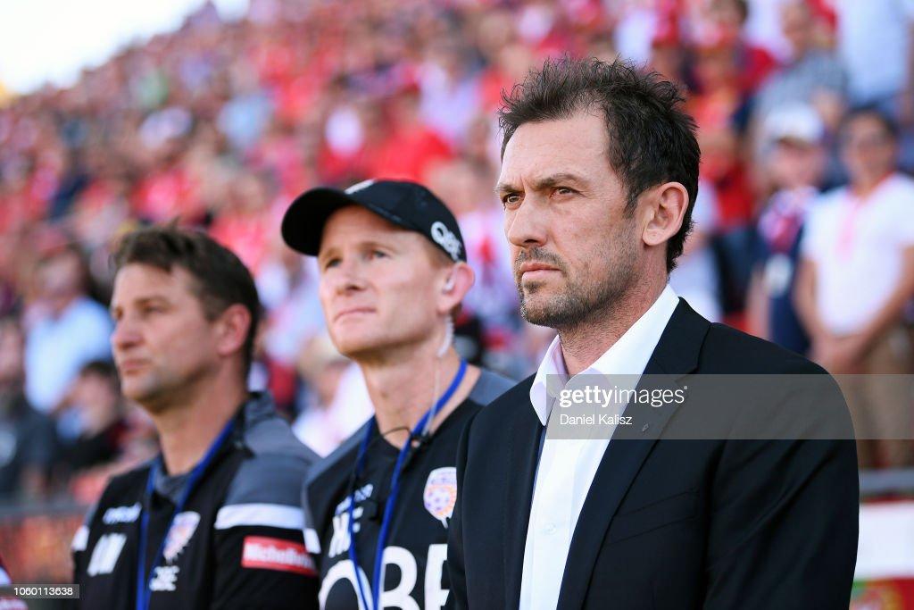 A-League Rd 4 - Adelaide v Perth : News Photo