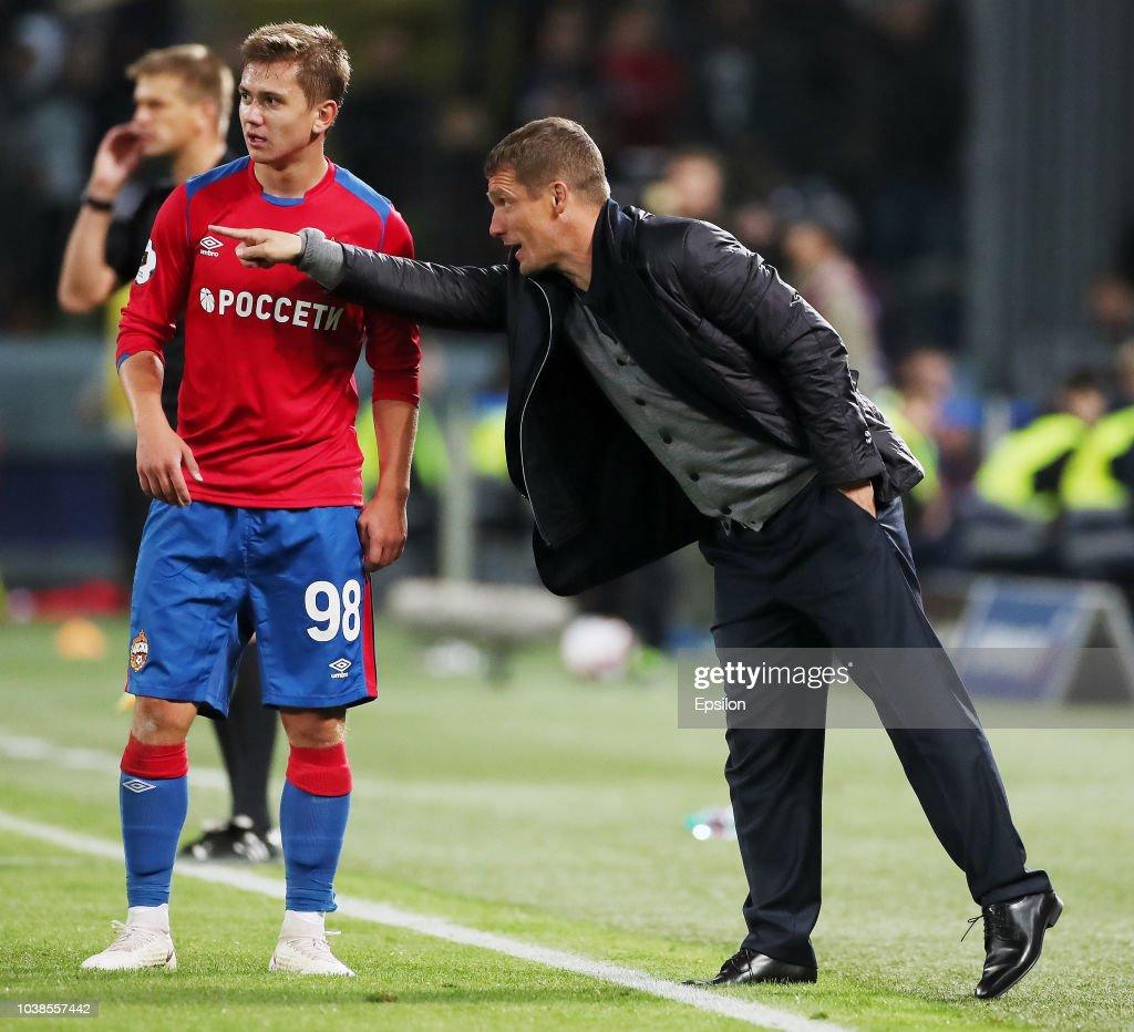 PFC CSKA Moscow vs FC Spartak Moscow - Russian Premier League : News Photo