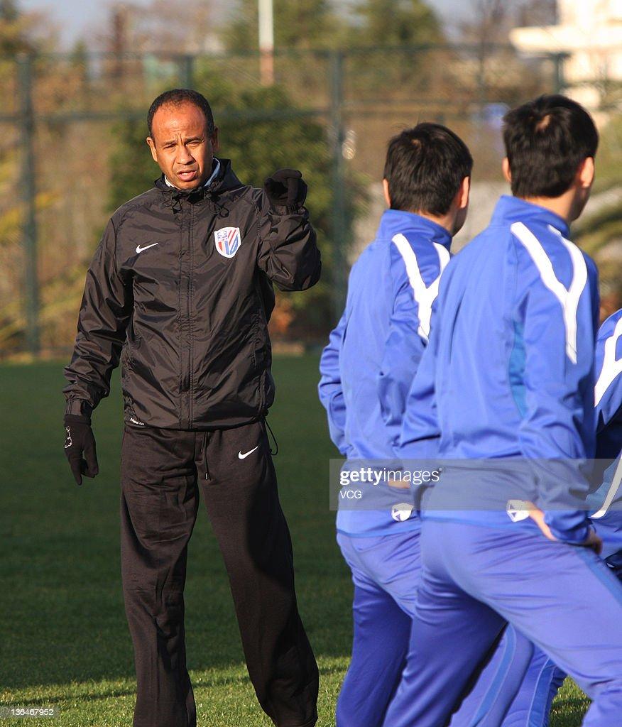 Shanghai Shenhua FC Training Session