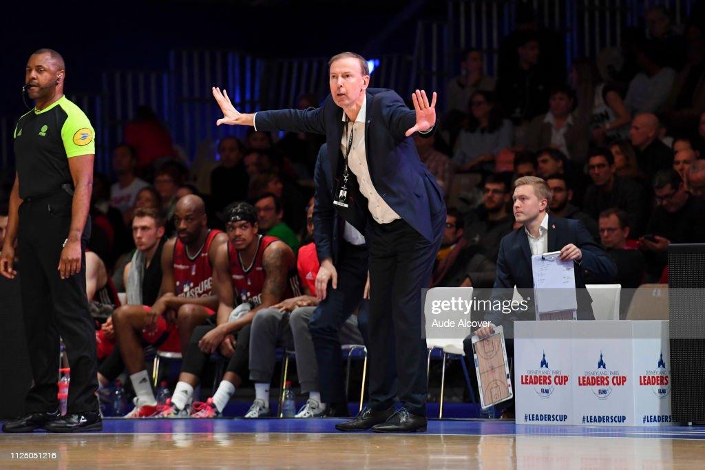 FRA: JDA Dijon v SIG Strasbourg - Leaders Cup 2019