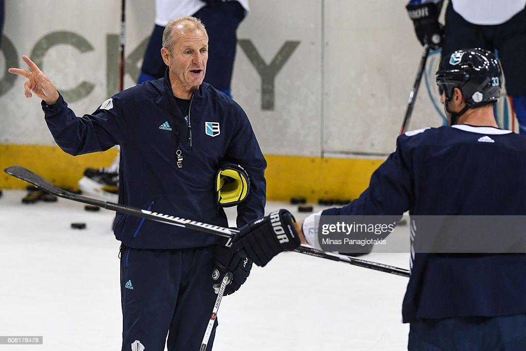 World Cup Of Hockey 2016 - Team Europe Practice : News Photo