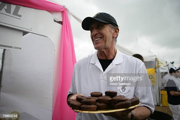 Head Coach of the Miami Heat Pat Riley attends the 2007 Family Festival on April 15 2007 at Watson Island in Miami Florida NOTE TO USER User...