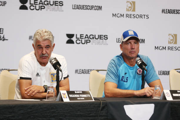 NV: Cruz Azul And Tigres UANL Press Conference