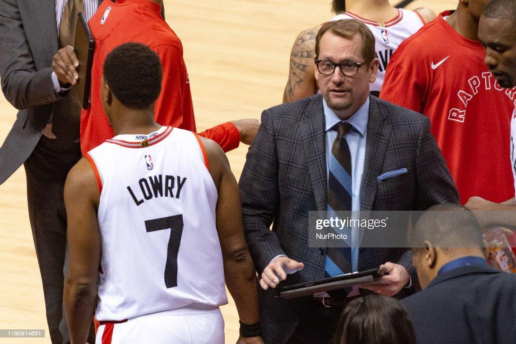 Oklahoma City Thunder v Toronto Raptors : News Photo