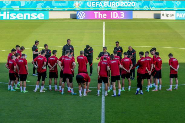 AZE: Switzerland v Turkey - UEFA Euro 2020: Group A