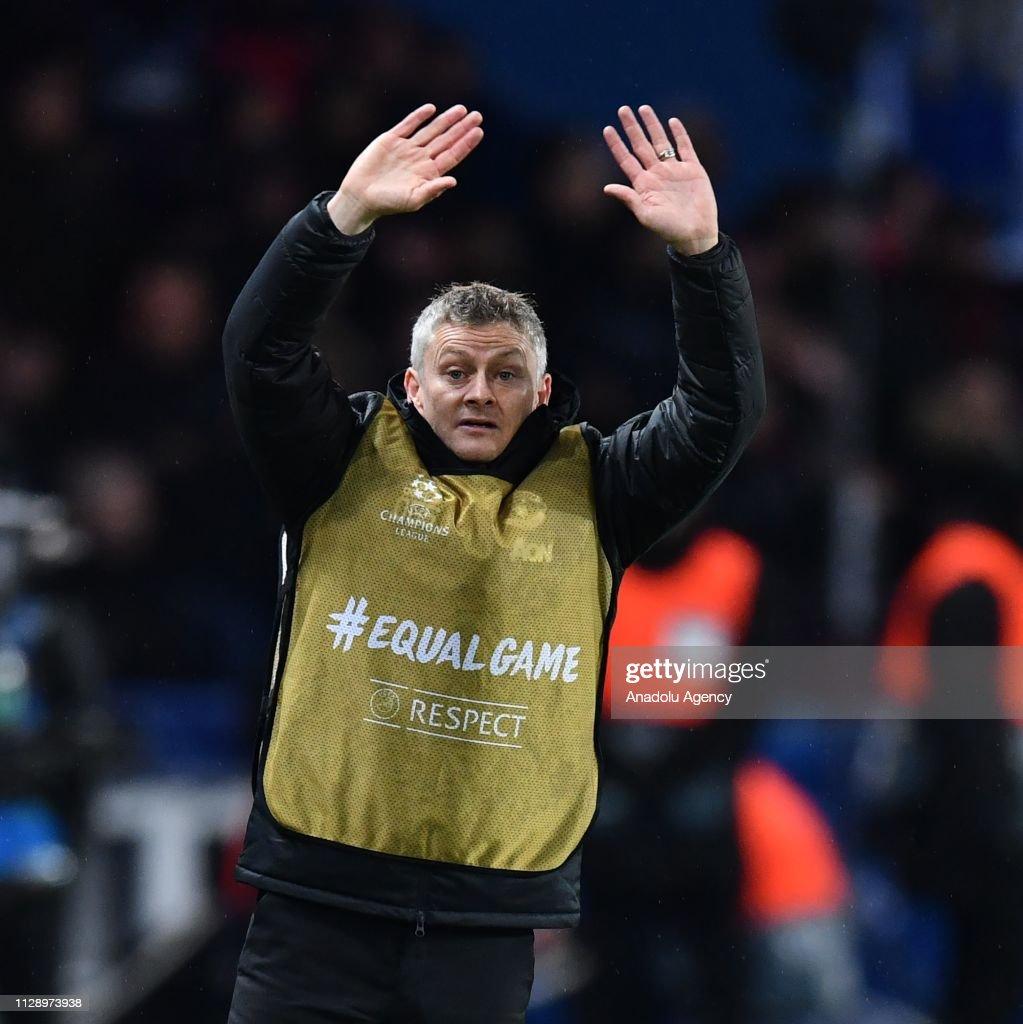Paris Saint Germain vs Manchester United: UEFA Champions League : News Photo