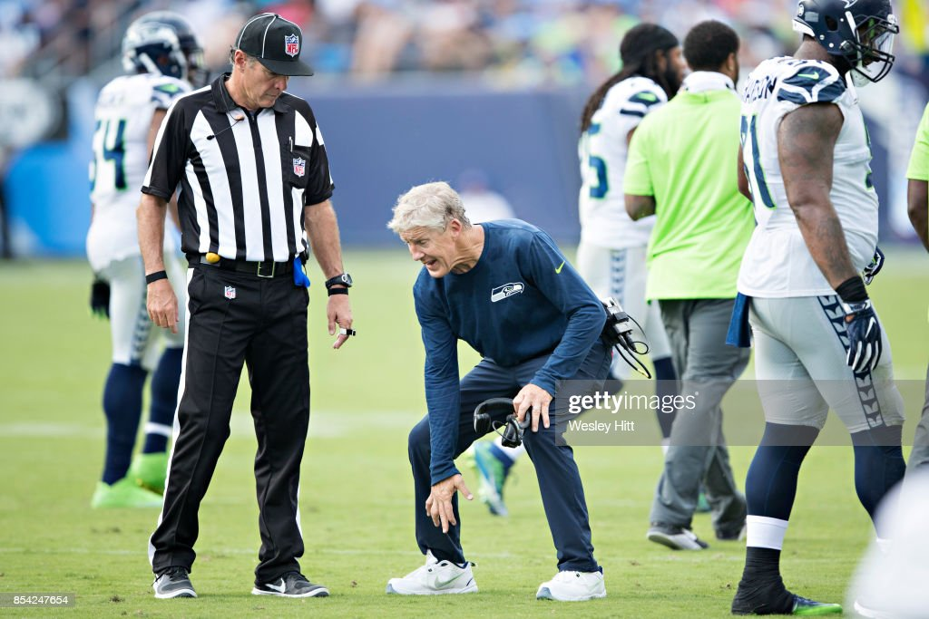 Seattle Seahawks v Tennessee Titans : News Photo