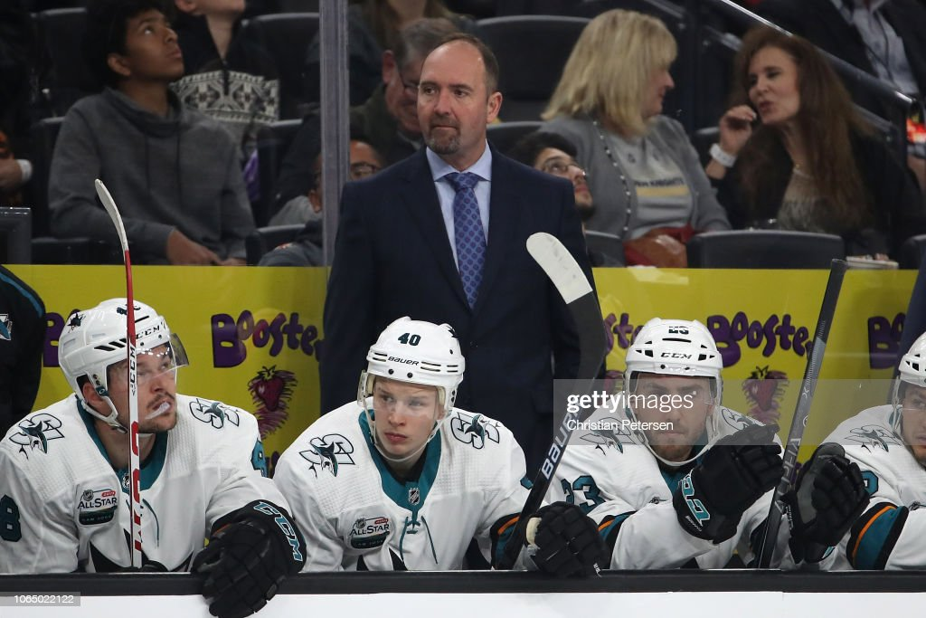 San Jose Sharks v Vegas Golden Knights : News Photo