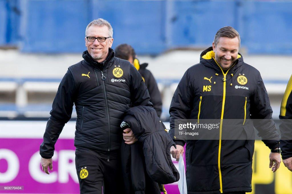 Borussia Dortmund v SV Zulte Waregem - Friendly Match : News Photo
