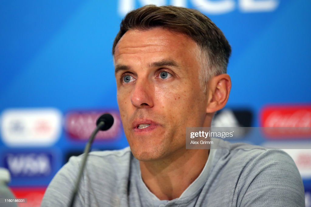 England Press Conference & Training - FIFA Women's World Cup France 2019 : News Photo
