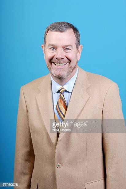 Head coach PJ Carlesimo of the Seattle SuperSonics poses for a portrait during NBA Media Day at the Furtado Center on October 1 2007 in Seattle...