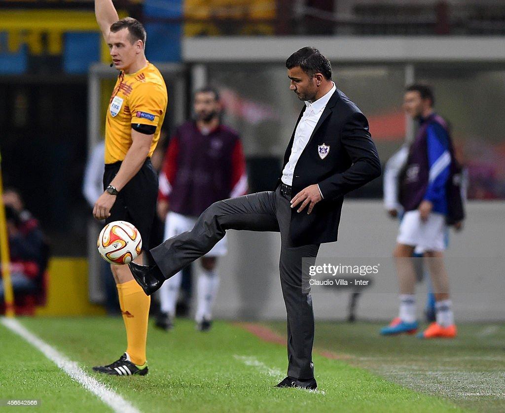 FC Internazionale Milano v Qarabag FK - UEFA Europa League : News Photo