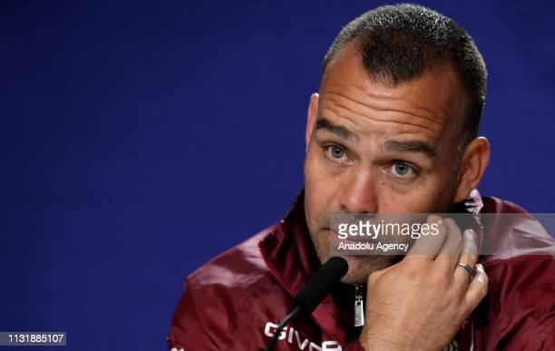 Head coach Rafael Dudamel of Venezuela National Football Team holds a press conference ahead of friendly match against Argentina National Football...